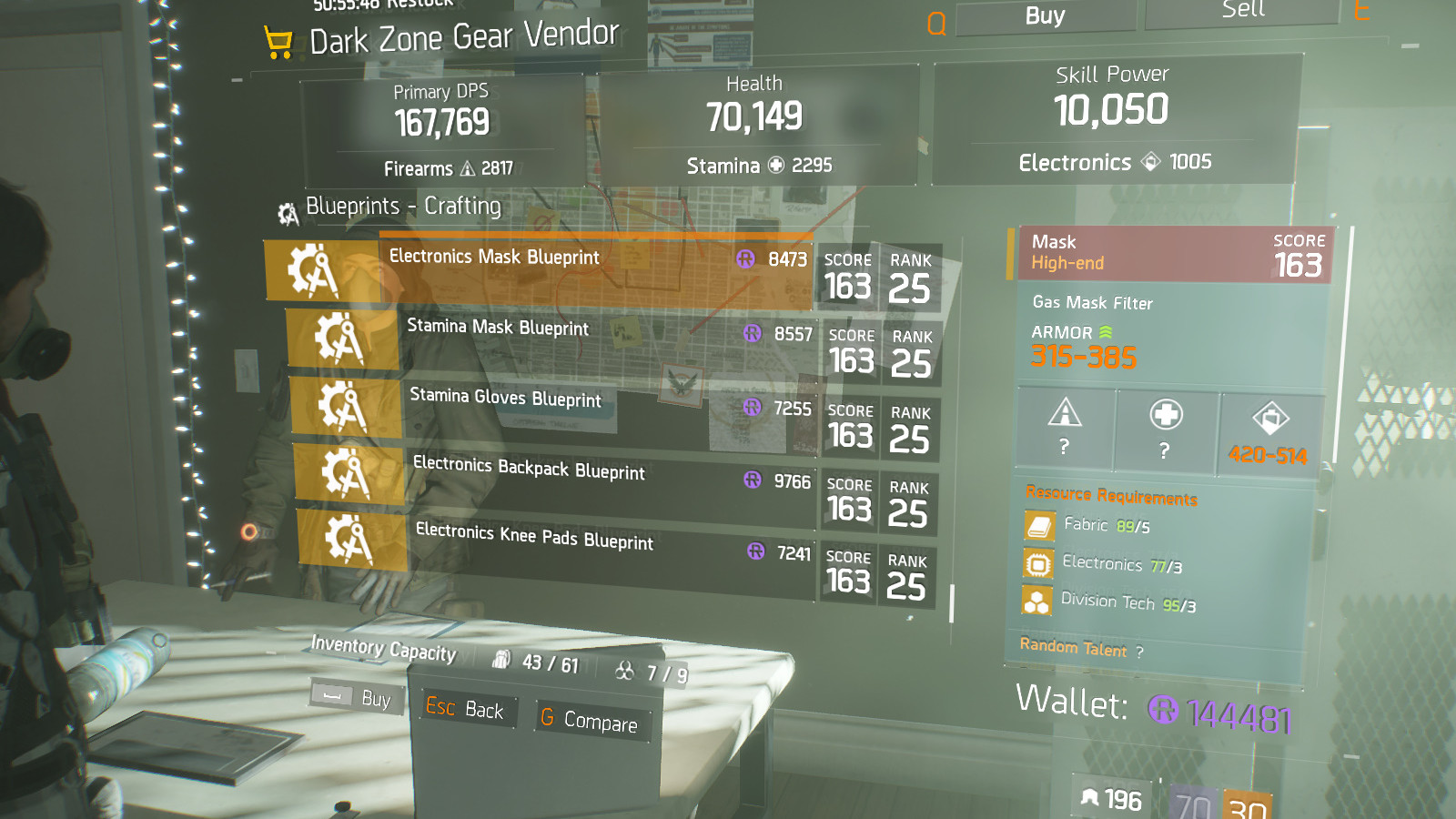 The Division Firecrest Build