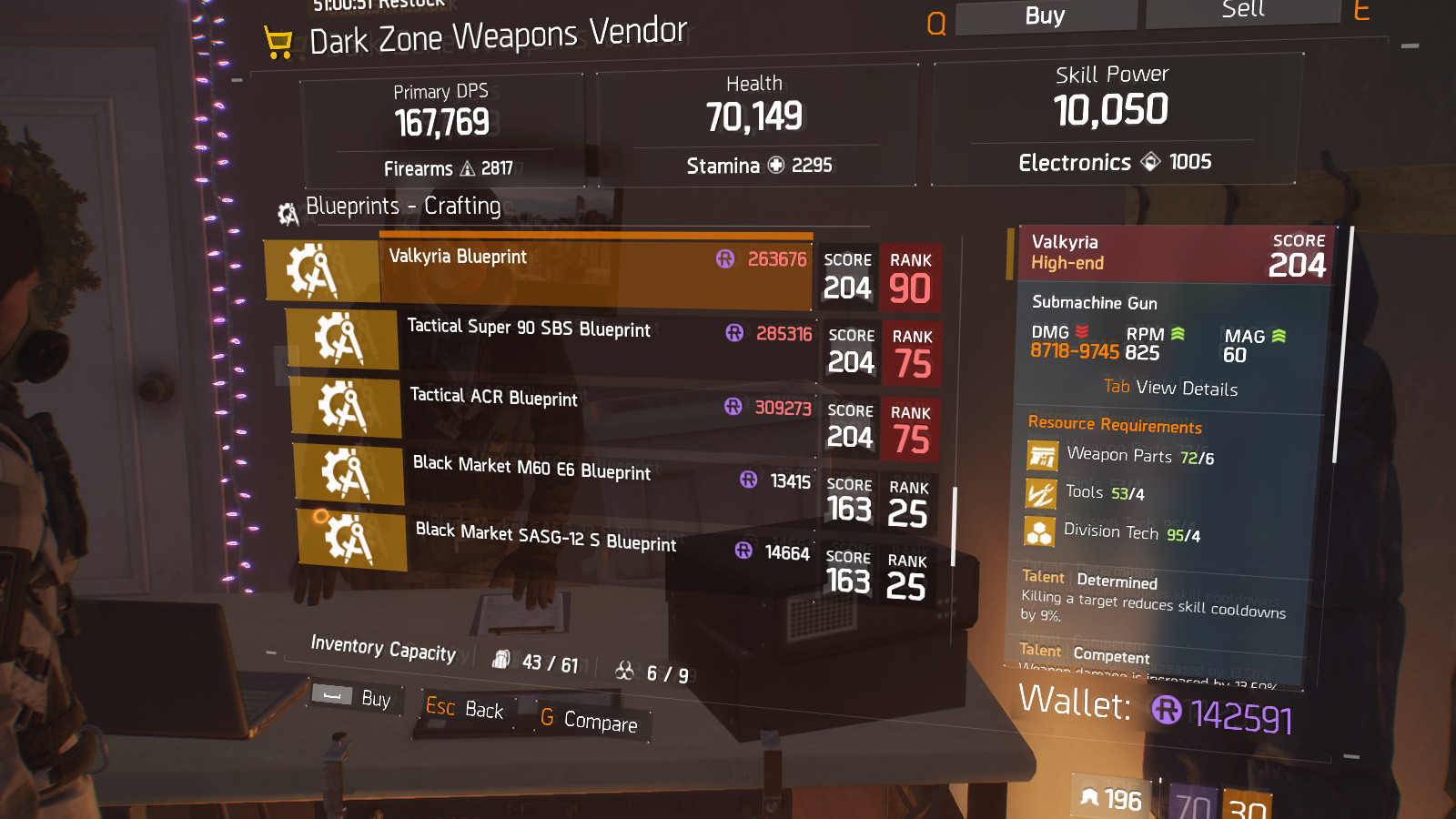 Firearms knee pads blueprint crafting blueprint item the division valkyria exotic firearm blueprint malvernweather Image collections
