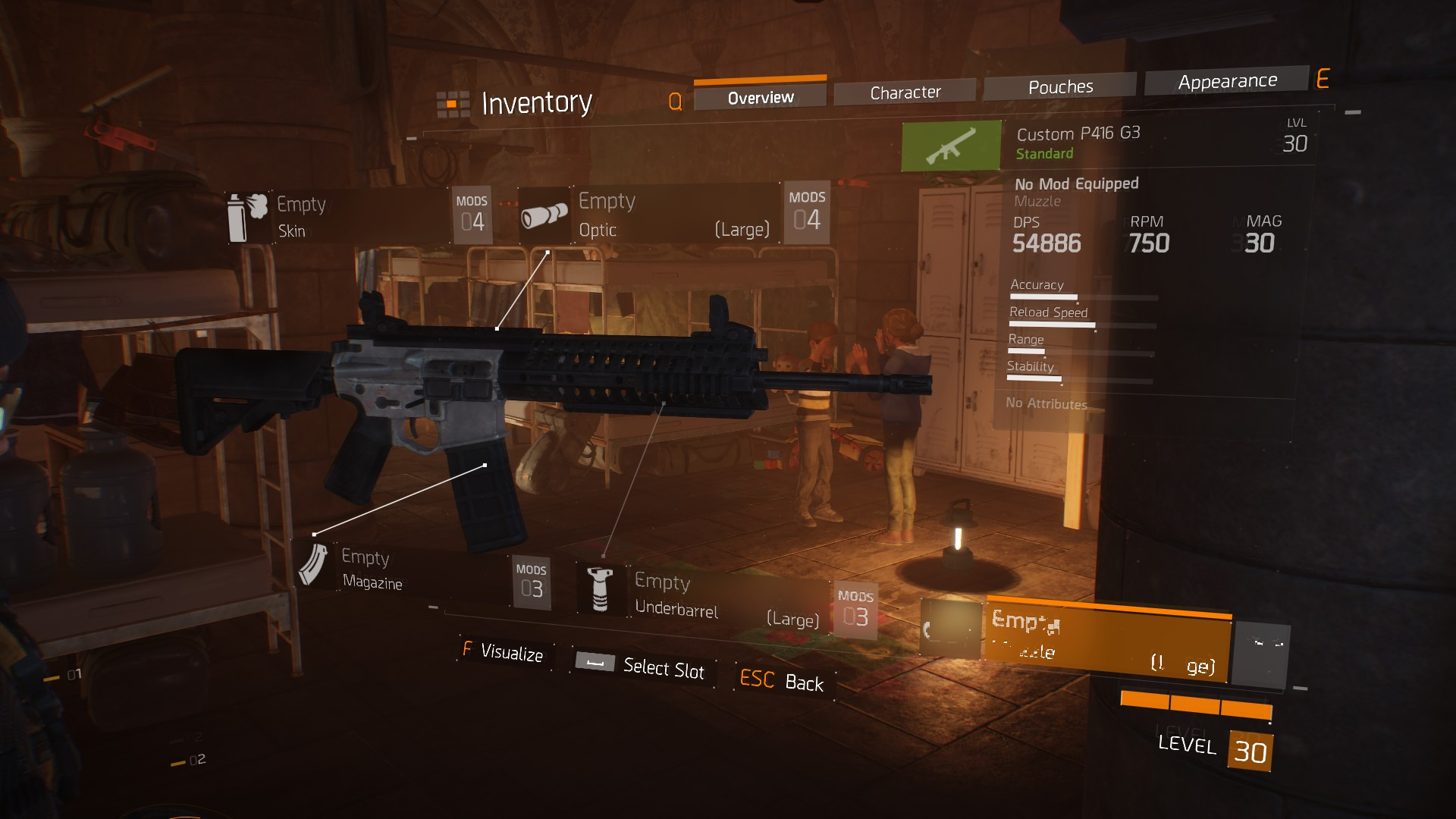 how to get high level weapons in the division