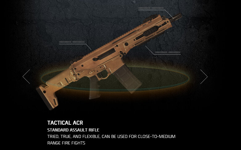 Tactical ACR