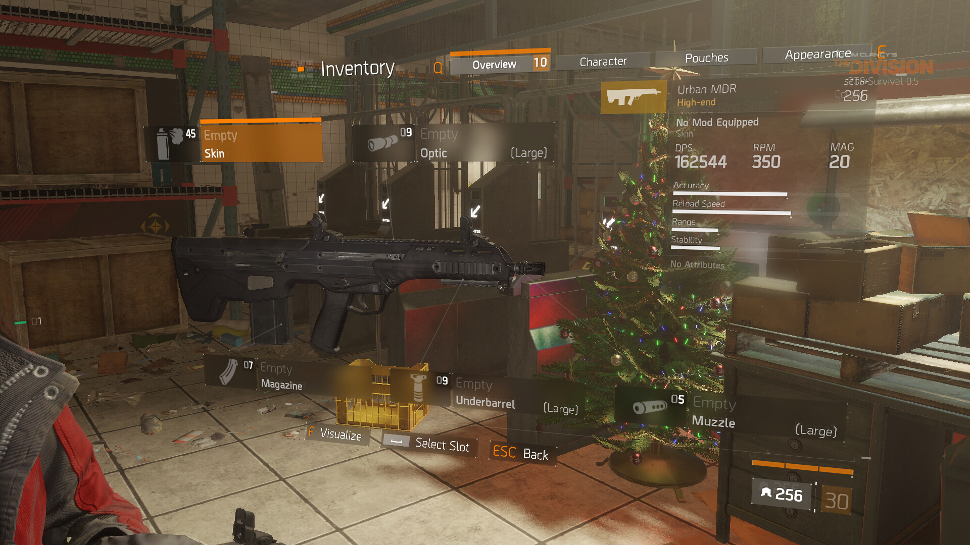 Urban MDR Weapon Item · The Division Field Guide
