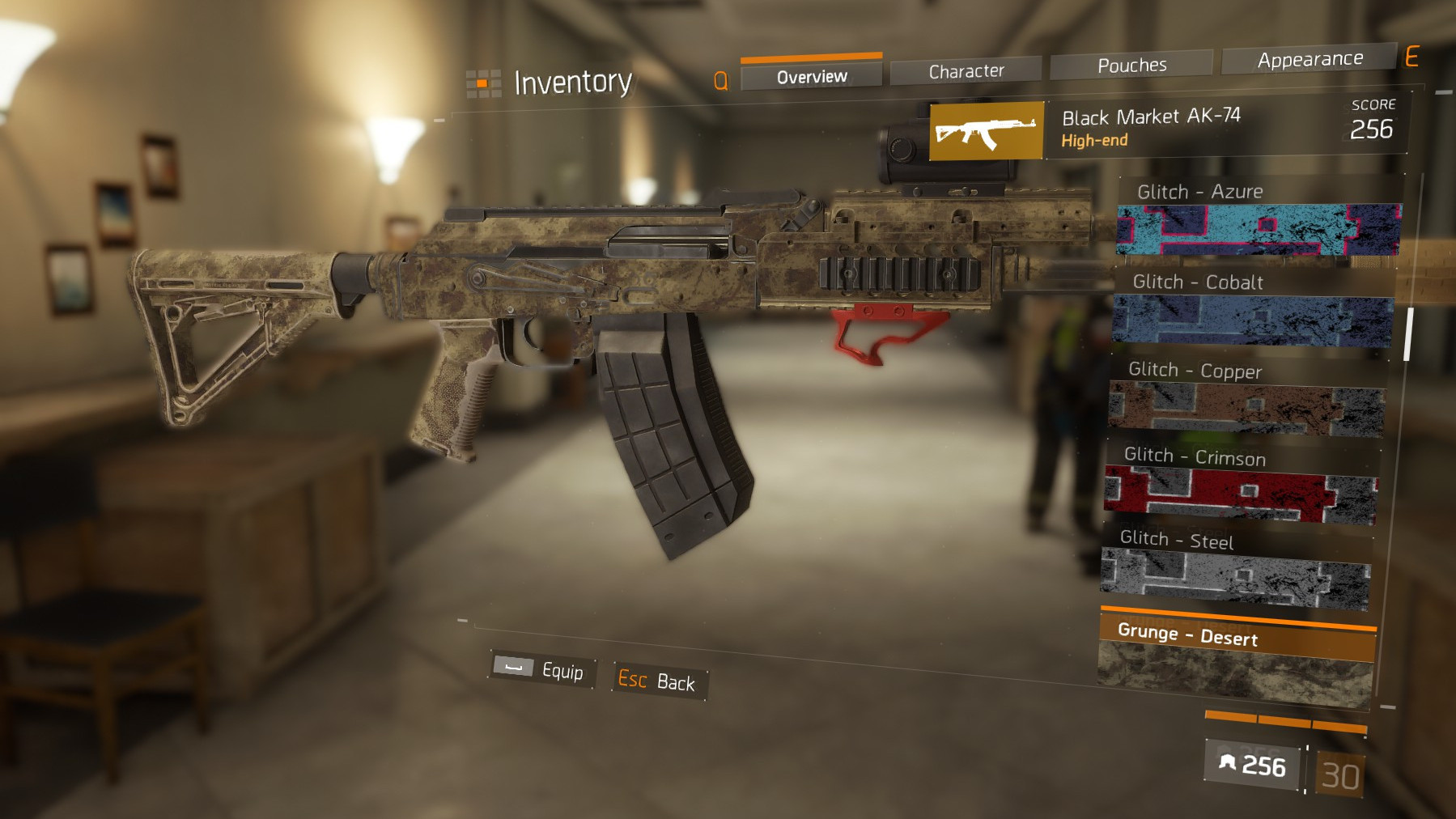 Weapon skin items · The Division Field Guide